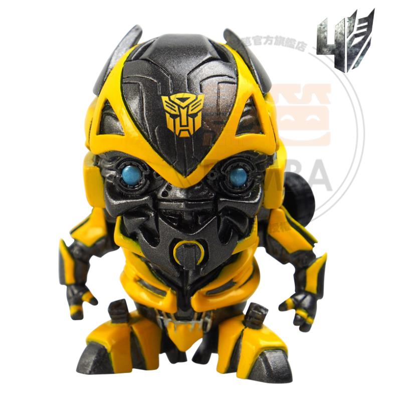 key chains 2014 NEW Prime Bumblebee 4 Q edition doll ornaments Key chain dust plug(China (Mainland))