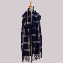 Plaid Pashmina Scarf Women Winter Poncho Blended Cashmere Scarf Tartan Scarves Women High Fashion 2016 Cachecol Feminino