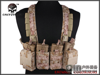 EMERSONEASY Chest Rig Vest Airsoft Painball Military Army Combat Gear EM7450A AOR1