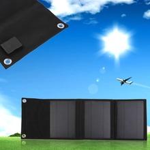 New Travel Kit Foldable Power Solar Panel Battery Backup Pack Charger Black Big Board(China (Mainland))
