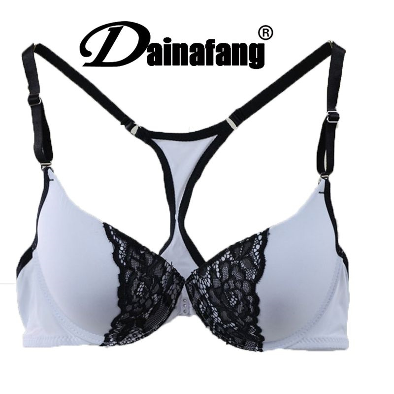 Sexy Lace women sports bra gather in front buckle America back sports bra tank Anti sagging bra underwear Butterfly Flowers 151#(China (Mainland))