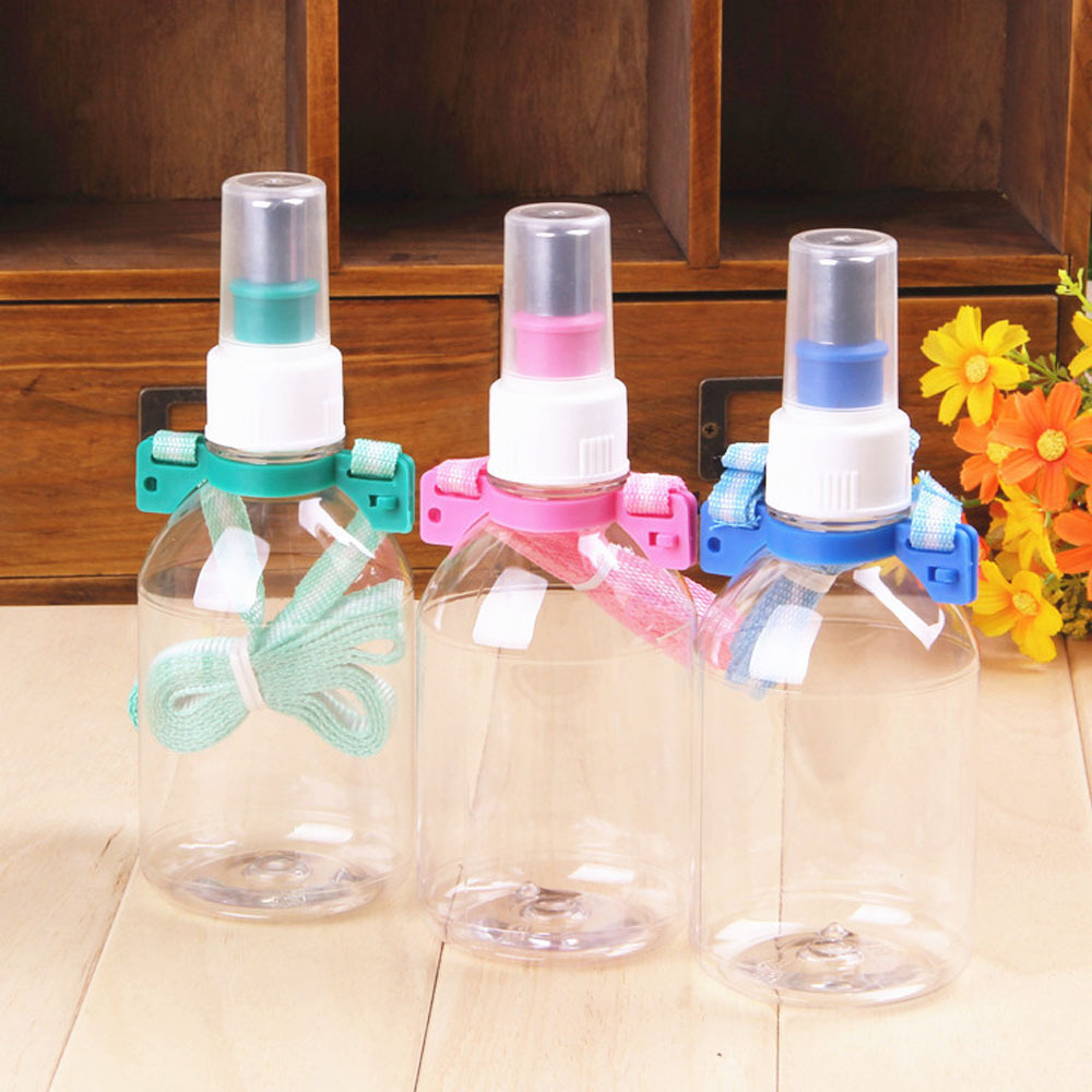 Pet Fountain Plastic Rabbit Water Bottle Dog Supplies Pet Water Bottle Outdoor With Rope Automatic Pet Feeder(China (Mainland))