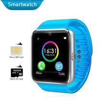 Android Watches Bluetooth Smart Electronics Phone Watch Waterproof Smartwatch GT08 SIM Card Health Sport Clock