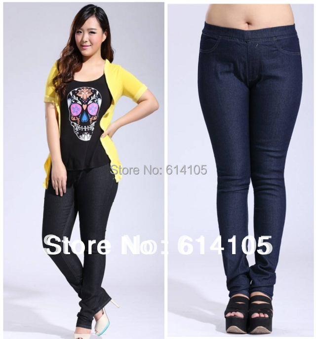[MF Jeans ] Free Shipping women jeans plus size Clothes ...