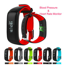 Buy P1 Smartband Heart Rate Monitor Blood Pressure Smart Bracelet Waterproof IP67 Bluetooth Wristband Fitness Android IOS Phone for $29.86 in AliExpress store