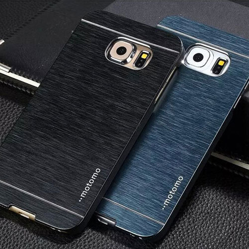 For Samsung Galaxy S6 case cover S6 edge also available Luxury brushed metal aluminium material, 1pc retail selling(China (Mainland))