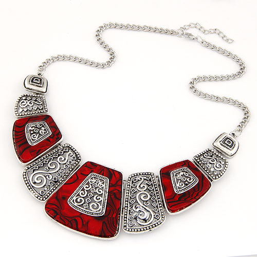 Collier Femme 2017 Fashion Statement Necklaces & Pendants Vintage Gold Geometric Choker Necklace Women Maxi Collares Jewlery - Meyfflin Jewellery Store store