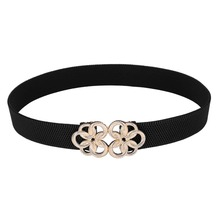 Buy 2017 Fashion Solid Women's Belt Female Vintage Cutout Cummerbund Elastic Belts Waistband Wide Belt Decoration Belts Women for $4.35 in AliExpress store