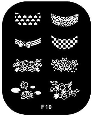 nail stamping plates konad stamping nail art stamp Nails styling nail tools makeup make up art plates plate M676-10F(China (Mainland))