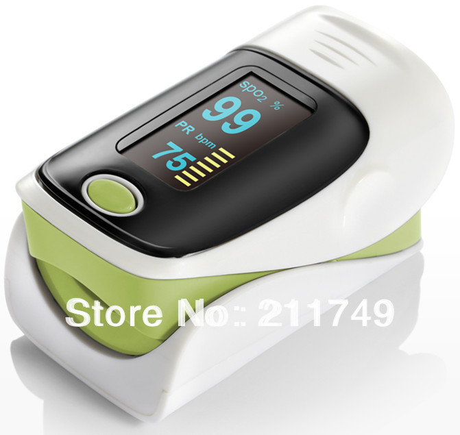 Free Shipping health care LED display Fingertip Pulse Oximeter, Blood Oxygen SpO2 saturation monitor Free shipping 10pcs/lot(China (Mainland))