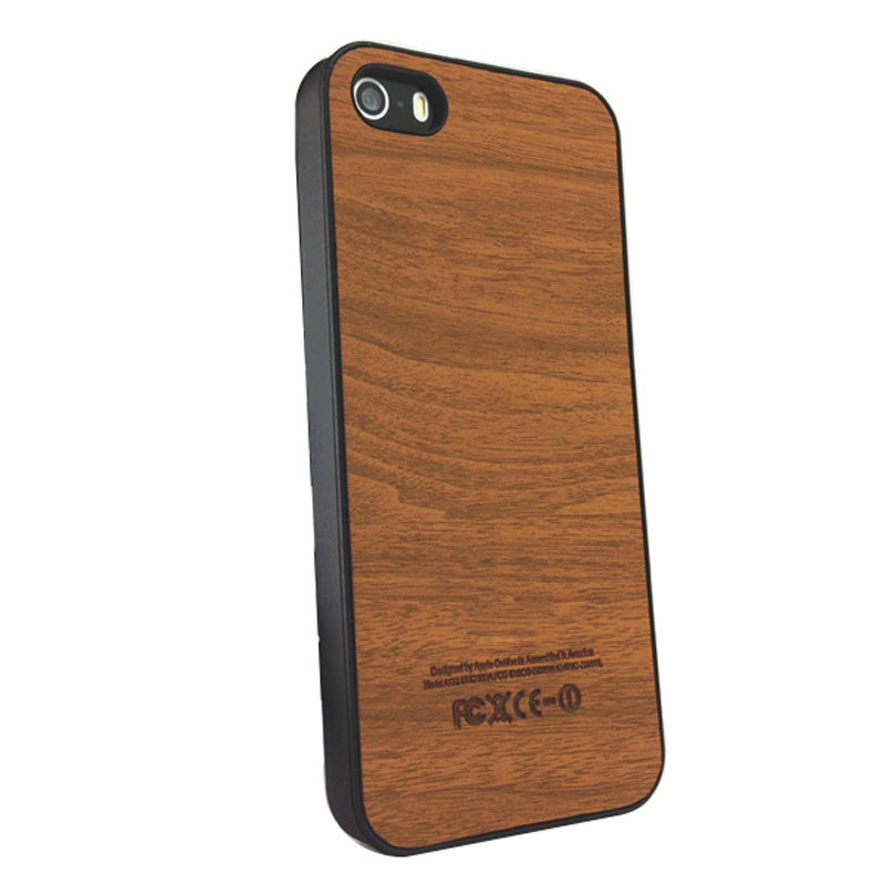 4S Wood Grain Hard Case for iPhone 4 4G 4S apple with LOGO HOT Fashion SLIM Designer Protective Cases Back Cover for iPhone4 s(China (Mainland))