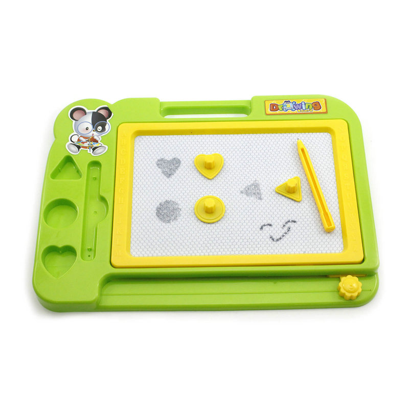 Green Color 1PC Kids Toys Children Educational Magnetic Drawing Board Paiting Pad 27cm * 20cm(China (Mainland))