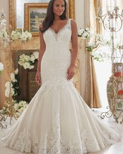 Vestido De Noiva Plus Size 2017 Simple Ivory Sexy Lace Mermaid Wedding Dress Plus Size Vintage African Wedding Gowns 2017(China (Mainland))