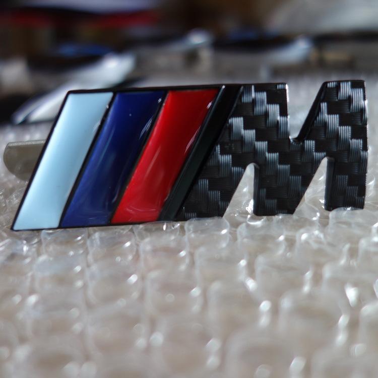 10 SET X 3D Metal Sport Carbon M Front Hood Grill Badge Emblem stickers screws M3 M5 X1 X3 X5 X6 E36 E39 E46 E30 E60 E92(China (Mainland))
