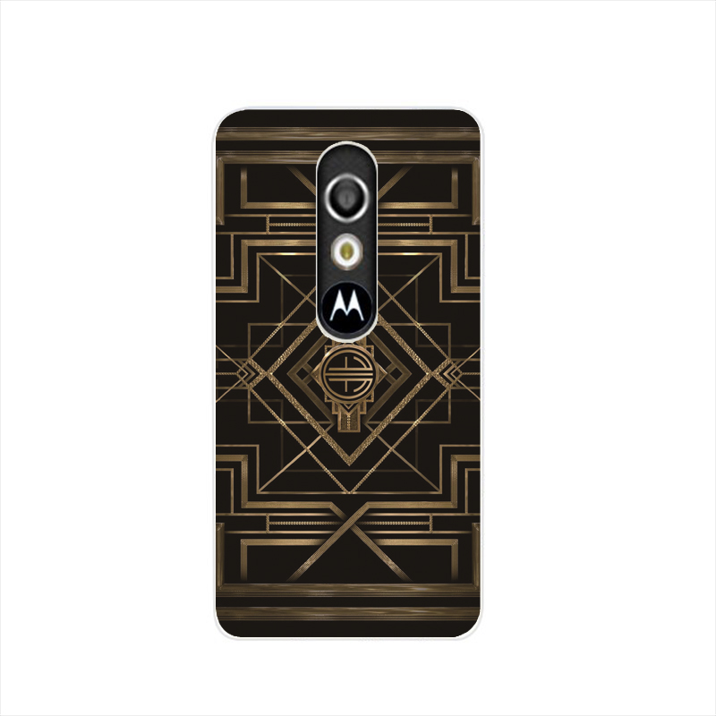 07516 art deco housing Cover cell phone Case for Motorola Moto G3 G 3rd Gen Generation(China (Mainland))