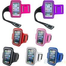 Waterproof Sports Running Case Workout  Holder Pounch For iphone 5 5G Cell Mobile Phone Arm Bag Band 01KB