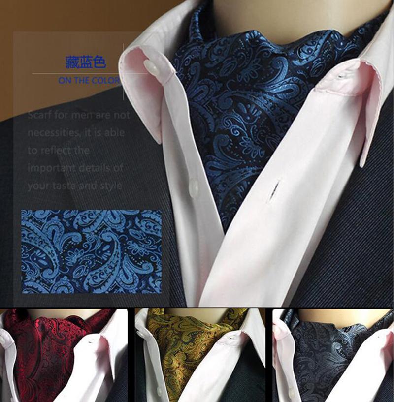 GUSLESON Quality 19 Styles Fashion Luxury Duplex Silk Printing Men Scarf Polka Dot Scarves Suit England Jacquard weave(China (Mainland))