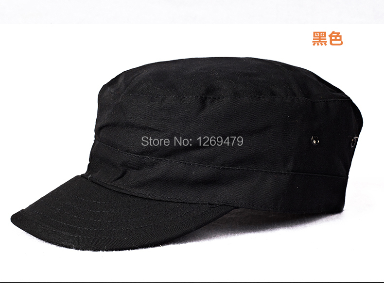 Free Shipping special troops service cap Women's service cap sunhat Outdoor hat flatcap Batman hat 12.2208(China (Mainland))