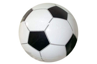 Free Shipping 45cm football inflatable ball inflatable toys toy balloon(China (Mainland))