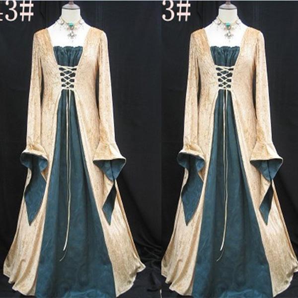 High Quality Renaissance Medieval Dress-Buy Cheap Renaissance ...