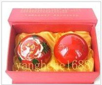 Health balls, cloisonne ball, handball     Paint ball with iron ring tone
