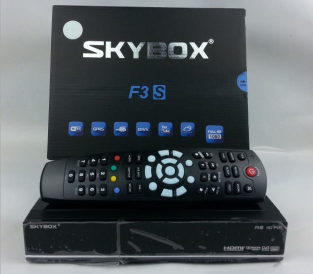Brand New SKYBOX F3S HD DEMODULATEUR SATELLITE FTA RECEPTEUR receiver satellite dvb s2 Hot sale consumer
