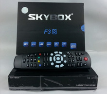 Brand New SKYBOX F3S HD DEMODULATEUR SATELLITE FTA RECEPTEUR receiver satellite dvb-s2 Hot sale consumer electronics free ship