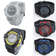 Hot Sale Man Boy Wrist Watch Rubber Watchband Adjustable Digital Watches Casual Style
