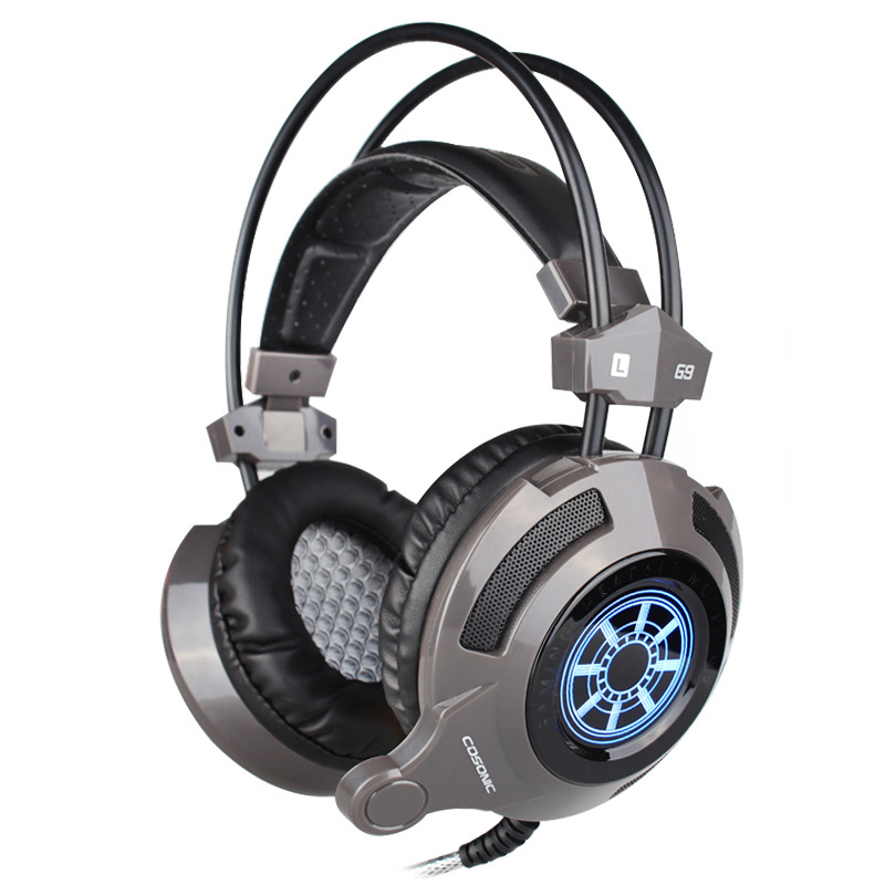 Cosonic G9 genuine original headset music headphones, LED lights HIFI heavy bass vibrations with a microphone headset video game(China (Mainland))