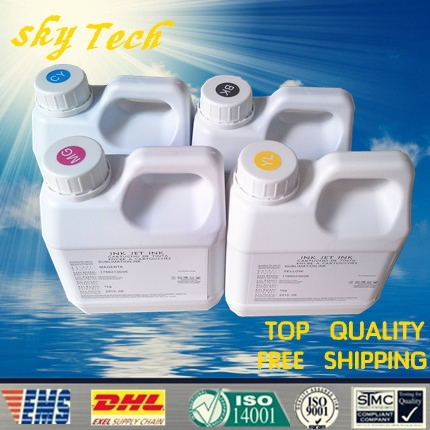 Sublimation ink specialized suit for Epson printer , 1000Ml Per color , 4L total ,especially suit for T-shirt ,phone shell, cups(China (Mainland))
