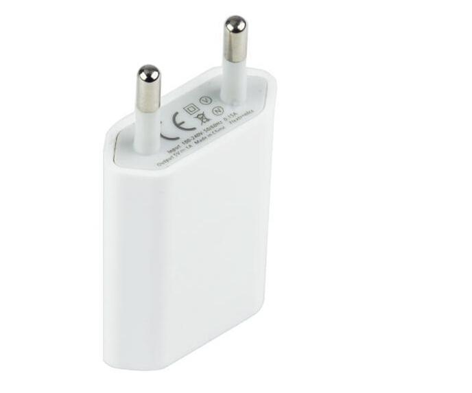 5 V de la ue del hogar del recorrido del USB cargador de pared para for iPhone 4 5 5S 6 plus Samsung Galaxy S2 S3 S4