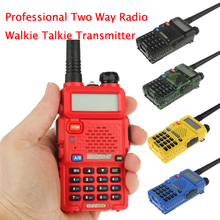 2015 New BAOFENG UV-5R Professional Dual Band Transceiver FM Two Way Radio Walkie Talkie Transmitter 1pc Free Shipping