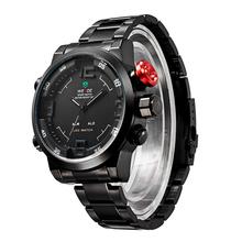 Weide WH2309 Men ' s Casual de negocios reloj de lujo del reloj de múltiples funciones Digital fresco Led relojes del cuarzo relojes deportes