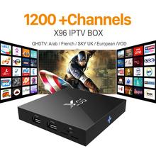 Buy X96 Iptv Box 2G16G S905X IT UK DE Android Europe Arab IPTV Box Spain Portugal Turkish Netherlands Smart Wifi IPTV Tv Box for $83.04 in AliExpress store