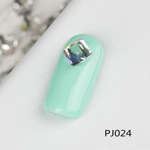 10 PCS 3D brilhante Glitter sólidos praça Rhinestone Nail Art Salon Stickers dicas DIY decorações Decor