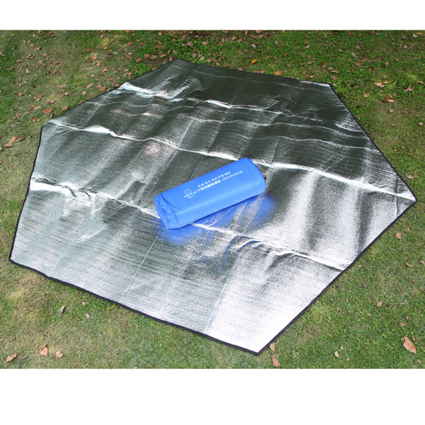 Outdoor Picnic Mat Inflatable Air Bed Tourist Hexagonal Double Faced Moisture-proof P
