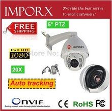Audio alarm night view 150 m infrared 1080P 1/3 Sony outdoor 20x IR Auto tracking High speed dome 20x ptz camera cctv camera