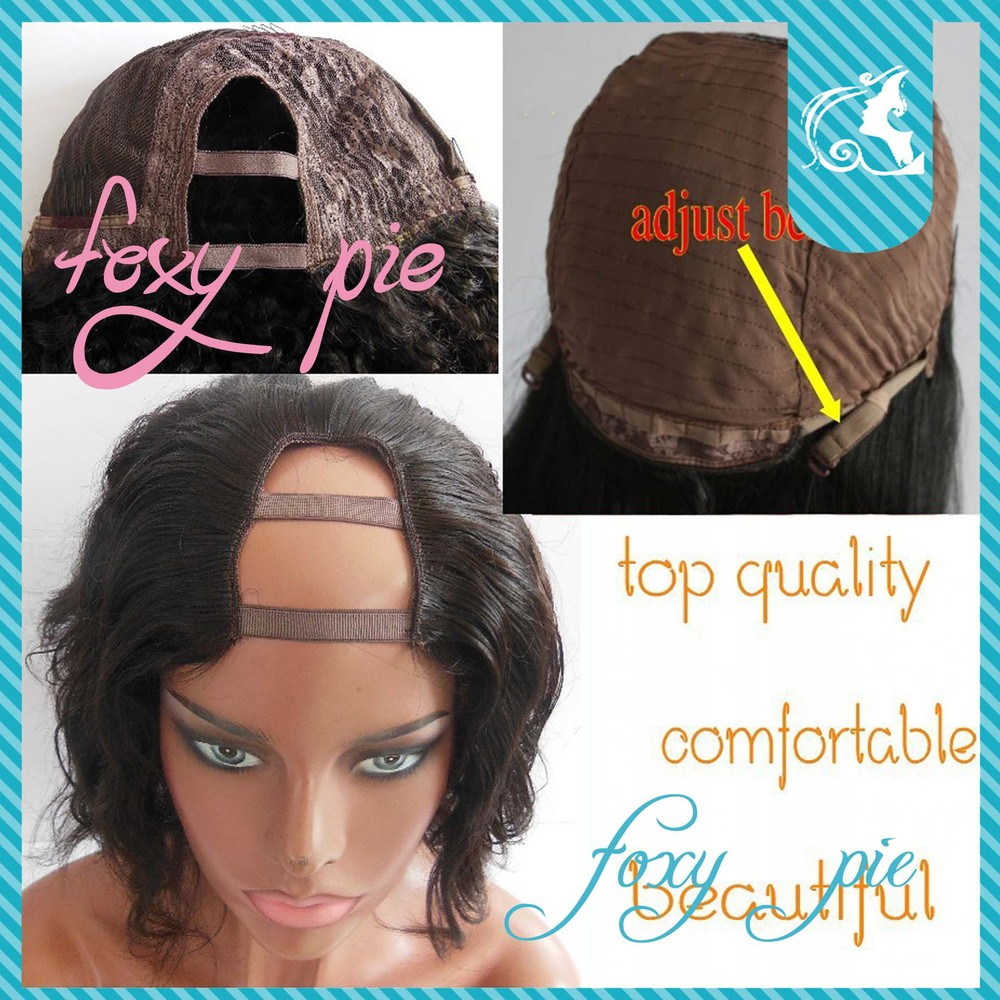U Part Wigs For Short Hair 7