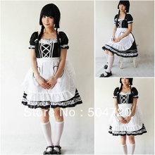 Freeshipping!on sale! V-1042 Black Classic Halloween costumes Gothic Lolita Dress/victorian dress  US6-26 XS-6XL