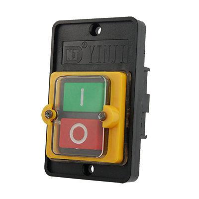 KAO-5 On-Off I/O Start Stop Waterproof Push Button Pushbutton Switch 10A 380V AC(China (Mainland))