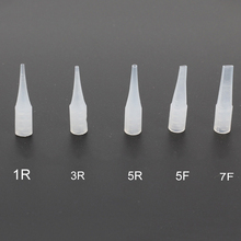 100Pcs New Mixed Small Size Disposable Tattoo Needle Caps  for Permanent Makeup Machine Needle Caps Tattoo Accessories Supply (China (Mainland))