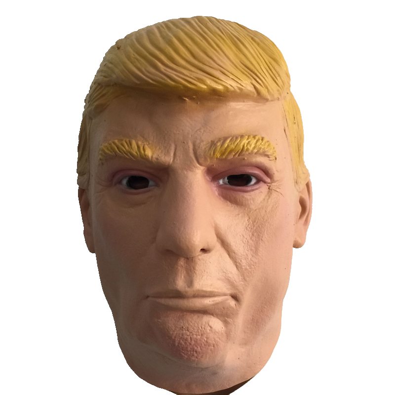Donald Trump Latex Mask 2016 US Election Famous Celebrity Trump Masquerade Rubber Masks Campaign Cosply Costume Fans Party(China (Mainland))
