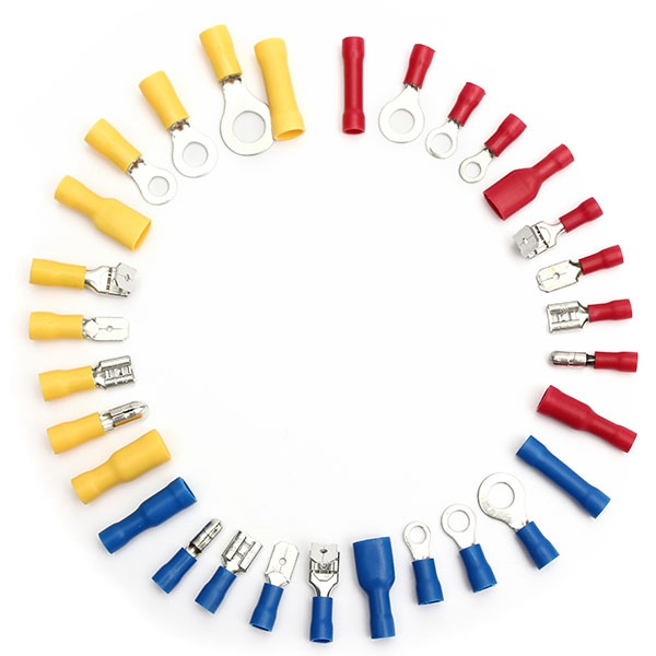 New Arrvial 720Pcs Assorted Insulated Electrical Wire Terminals Crimp Connector Spade Set Excellent Quality(China (Mainland))