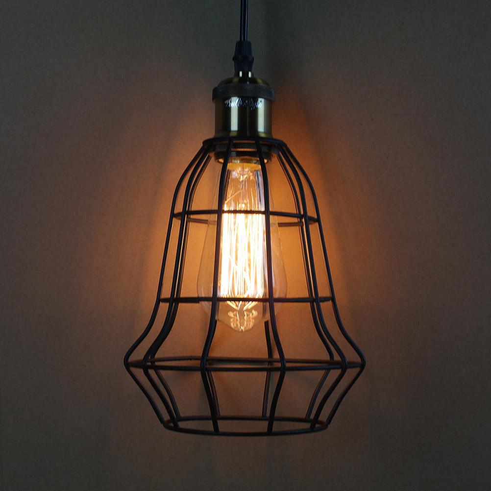 Online kopen wholesale draad kooi licht uit china draad kooi licht groothandel - Licht industriele vintage ...