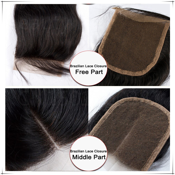 8-28inchGrade 6A Cheap Peruvian Virgin Hair Straight Lace Closure Unprocessed Human Hair Swiss Lace Three Part Top Closure<br><br>Aliexpress