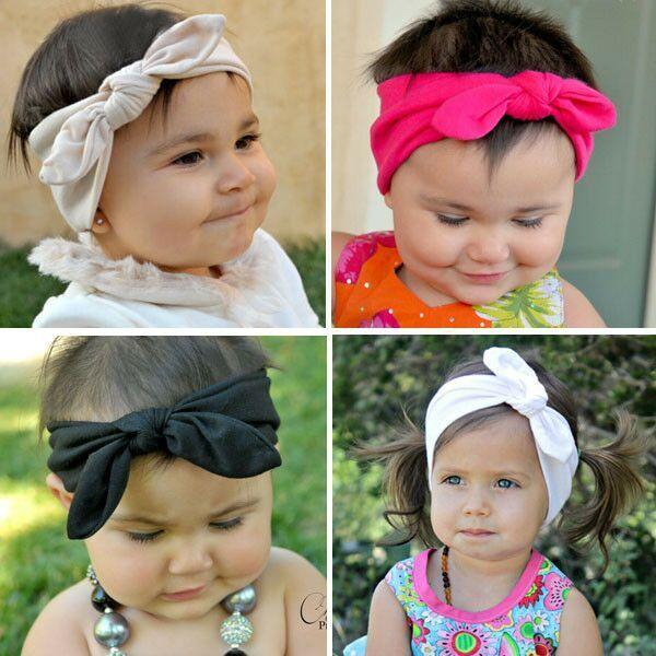1 pc/lot 2015 Wholesale Newborn Baby Girl Top Knot Headband Toddler Turban Head wrap Kids Hair Wrap Free Shipping(China (Mainland))