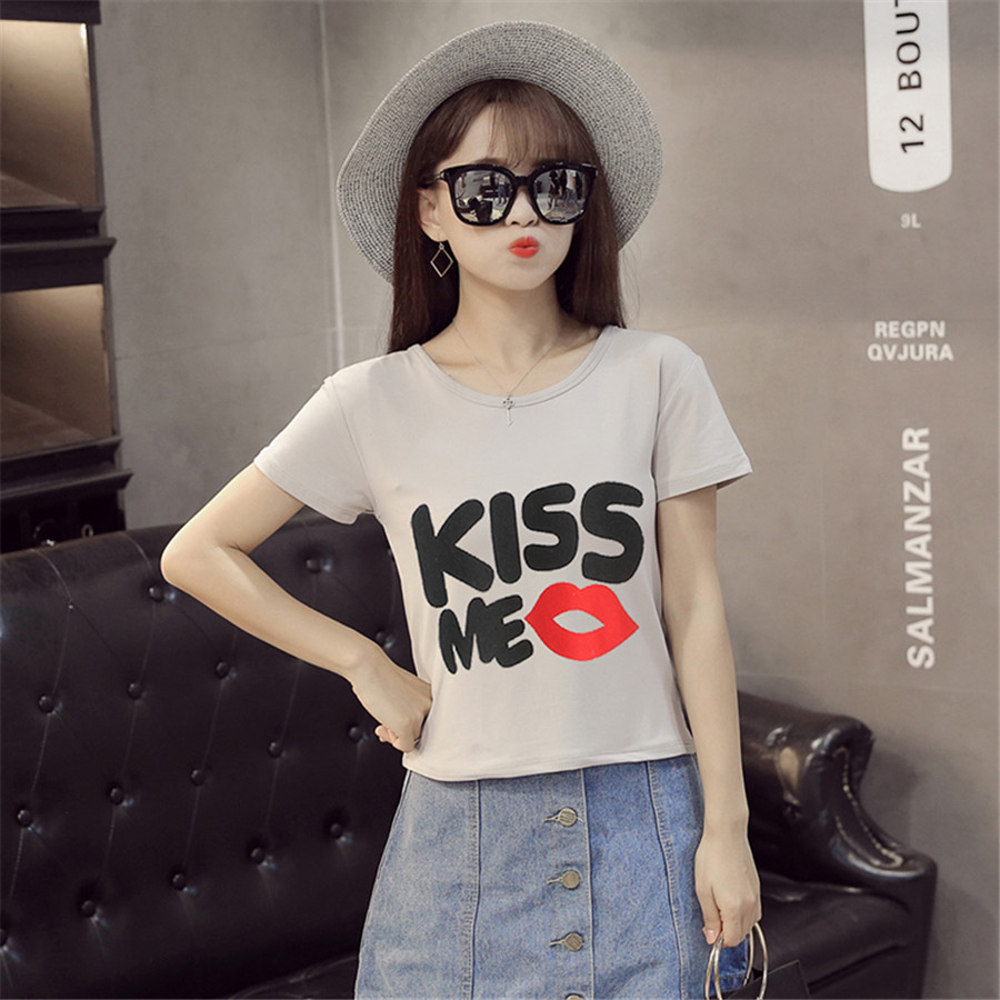 2017 New Baby Girls t shirt Summer Tshirt Cotton Short-Sleeved Top Tees Casual T-shirts For Kids Children girl T-Shirts A503(China (Mainland))