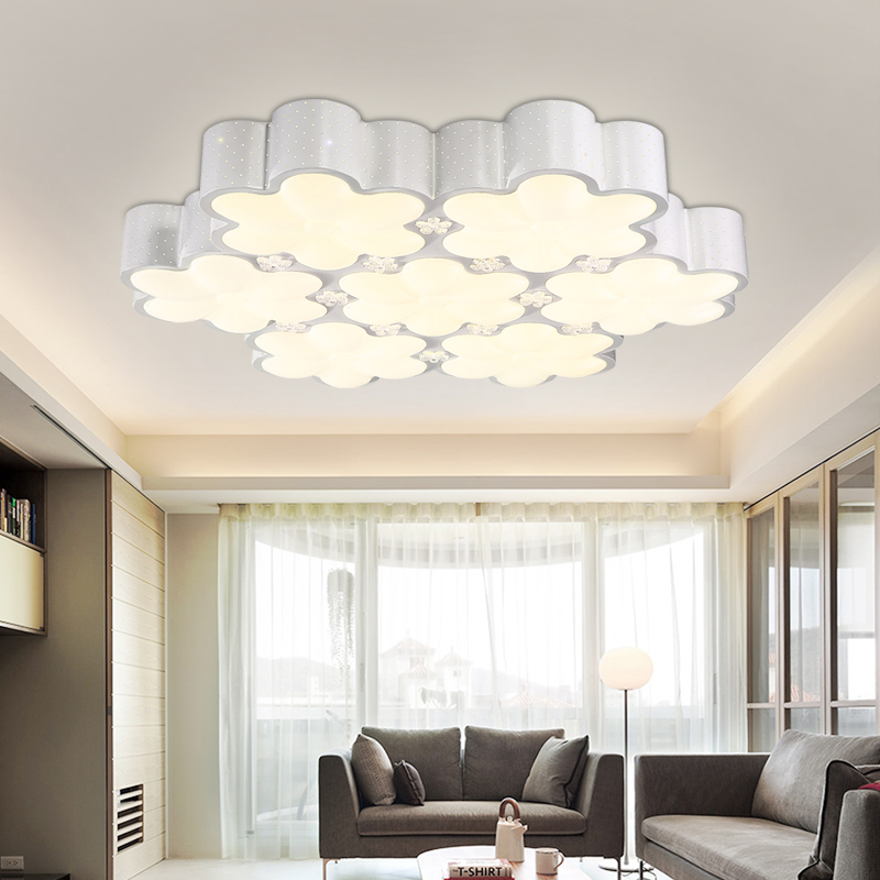 flush mount ceiling lights led children bedroom lamps acrylic