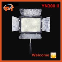New Free shipping Yongnuo YN300 II LED Camera Video Light Color temperature controlled for Canon Nikon