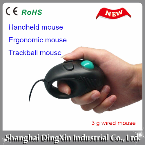 Optimal rat HS - 01 laptop mini 3 g hand type cable trackball mouse thumb finger mouse(China (Mainland))
